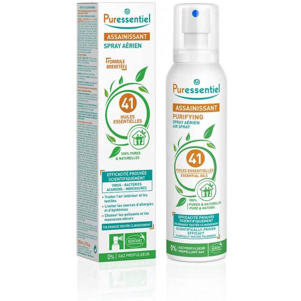 Spray Assainissant aux 41 Huiles Essentielles - PURESSENTIEL