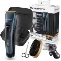 Tondeuse à barbe spécial barbe longue - ROWENTA Tondeuse barbe sans fil - Rowenta Barbier Signature - Kit barbe longue