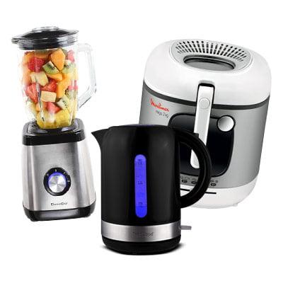 Guide d'achat petit électroménager de cuisine : friteuse, blender à smoothie, four micronondes