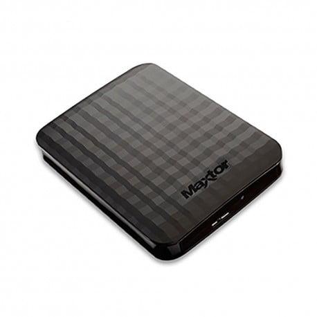 Disque Dur Portable - 2 To - USB 3.0 Noir - Maxtor STSHX-M201TCBM
