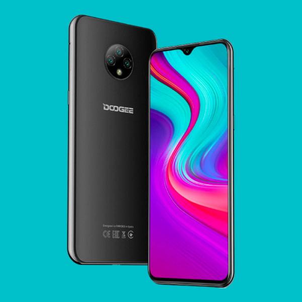 Smartphone DOOGEE X95 (2020) 4G - 6,56 pouces - Triple Caméra