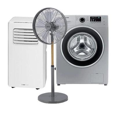 Guide d'achat gros électroménager : climatiseur, chauffage mobile, lave linge...