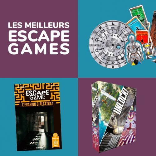 Escape Games - Guide des meilleurs jeux pour jouer à la maison