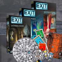 Les jeux de société ESCAPE GAME - tendance des jeux de société - EXIT EXIT Le Jeu - Escape Game - Jeux de Société