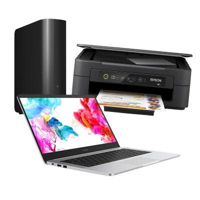 Guides d'achat informatique : ordinateur, disque dur externe,  imprimante