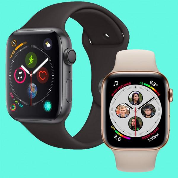Montre intelligente - Apple iWatch series 4 Apple Watch Series 4 - 4G - Bracelet silicone