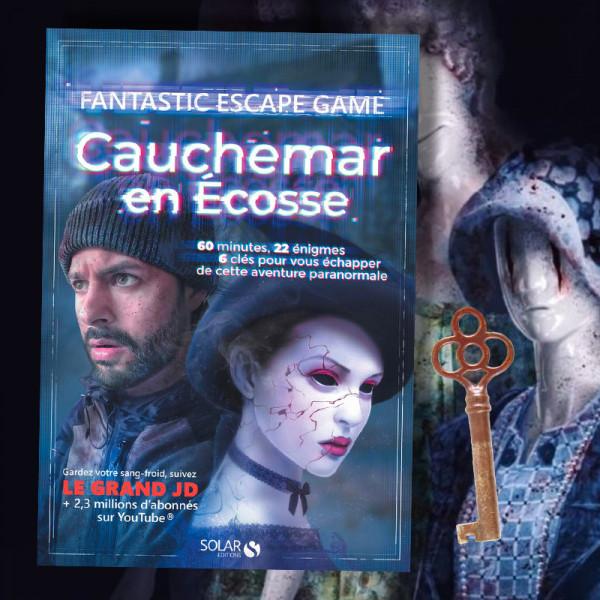Cauchemar en écosse - livre escape game Livre Escape Game - Cauchemar en Ecosse