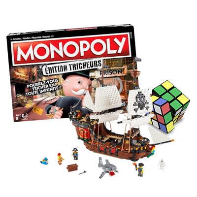 Guide des jeux et jouets pour toute la famille : jeux de société, escape game, poupées barbies...