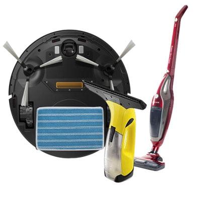 Guide d'achat appareils de ménage et entretien : aspirateurs, nettoyeurs vapeur