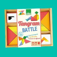 Jeu Tangram Battle - 100 Modèles - Casse-Tête Chinois